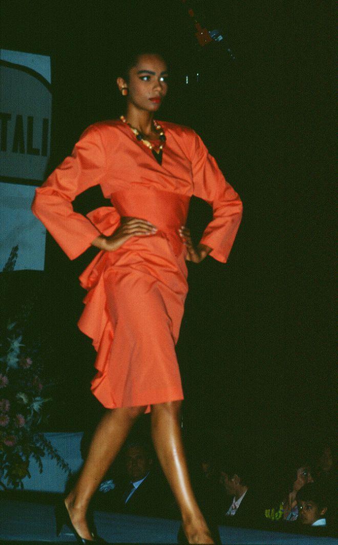 Sfilata di Moda 1987 Scuola di Moda Vitali