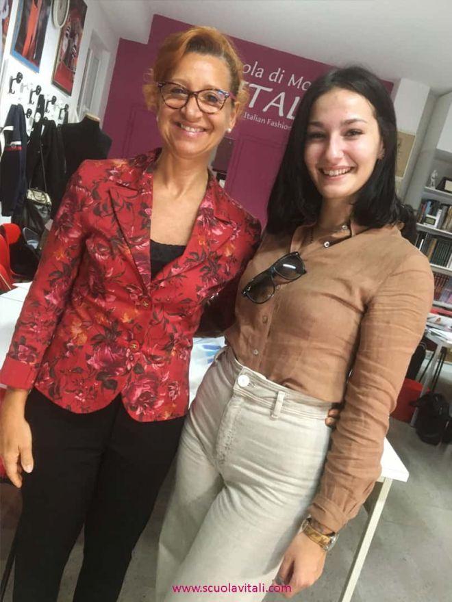 Silvia G. Vitali e Anna Gatto di Intimissimi