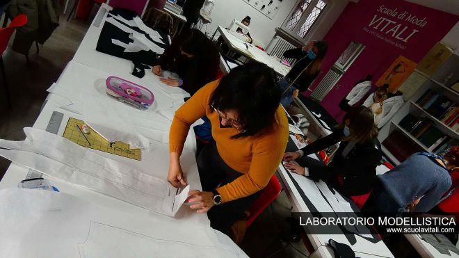 Modellistica e Confezione, Laboratorio Scuola di Moda,