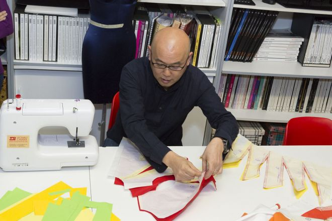 Corso TR Pattern Avanzato 2017 Scuola di Moda Vitali con Shingo Sato