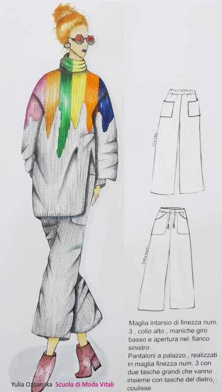 Fashion Design by Yulia Ozhanska