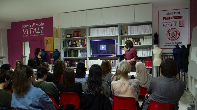 Scuola di Moda Vitali, Gianpietro Campedelli, Yasmin Grelli, Elena Bracci