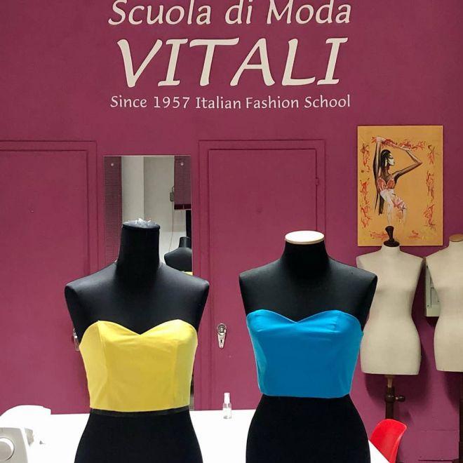 scuola di moda vitali, modellistica