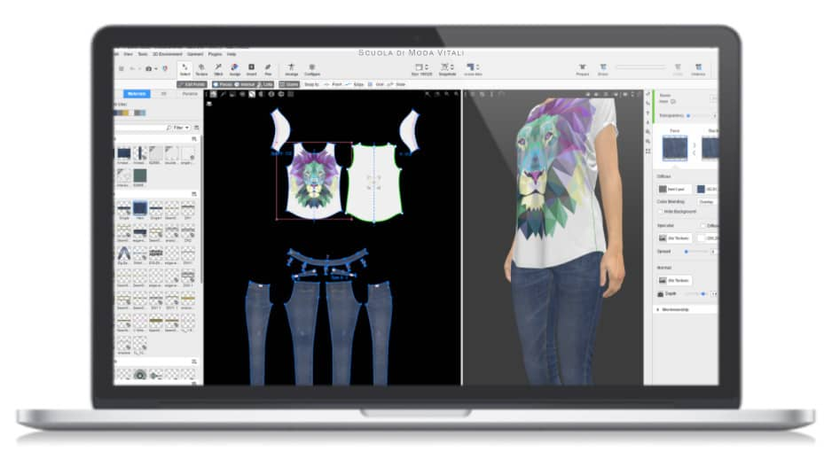 Vstitcher 3D Pattern Making