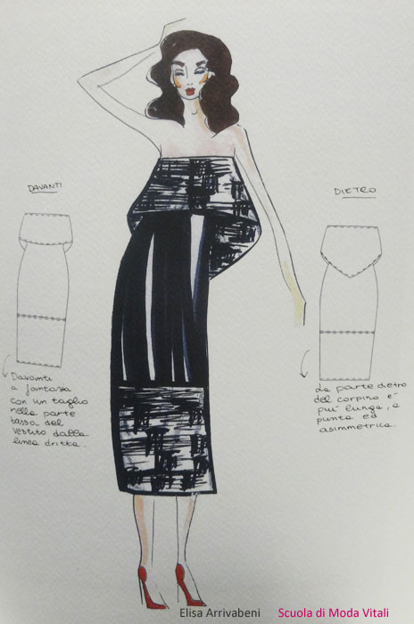 Fashion Design by Elisa Arrivabeni