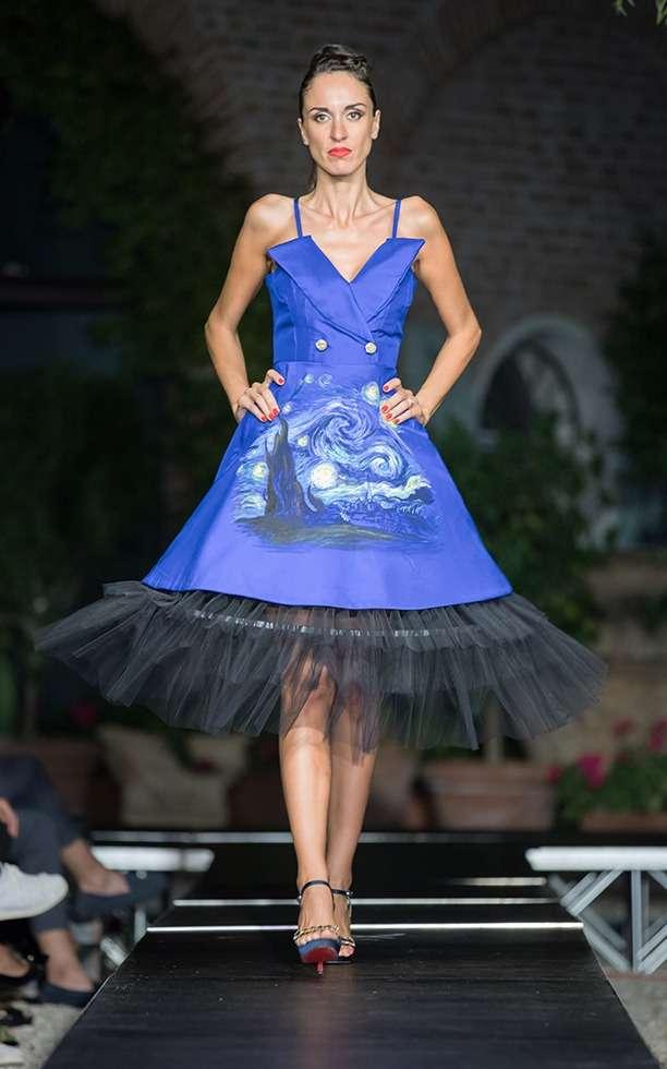 Sfilata di Moda The Fashion Heritage, creazioni Studenti della Scuola di Moda Vitali