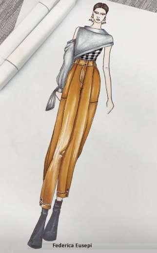 Federica Eusepi, Master in Fashion Design, Scuola di Moda Vitali