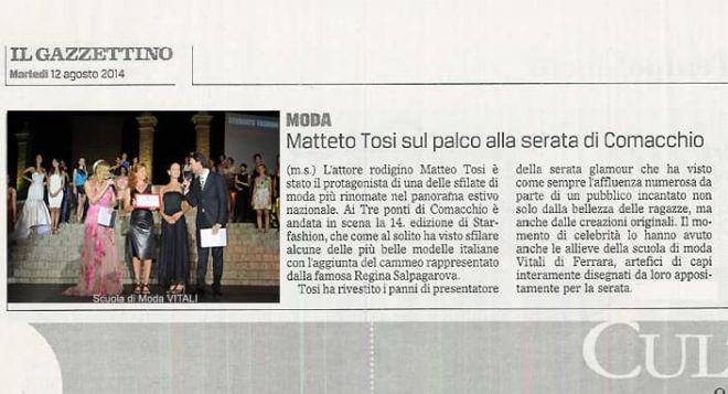 Matteo Tosi Scuola di Moda Vitali