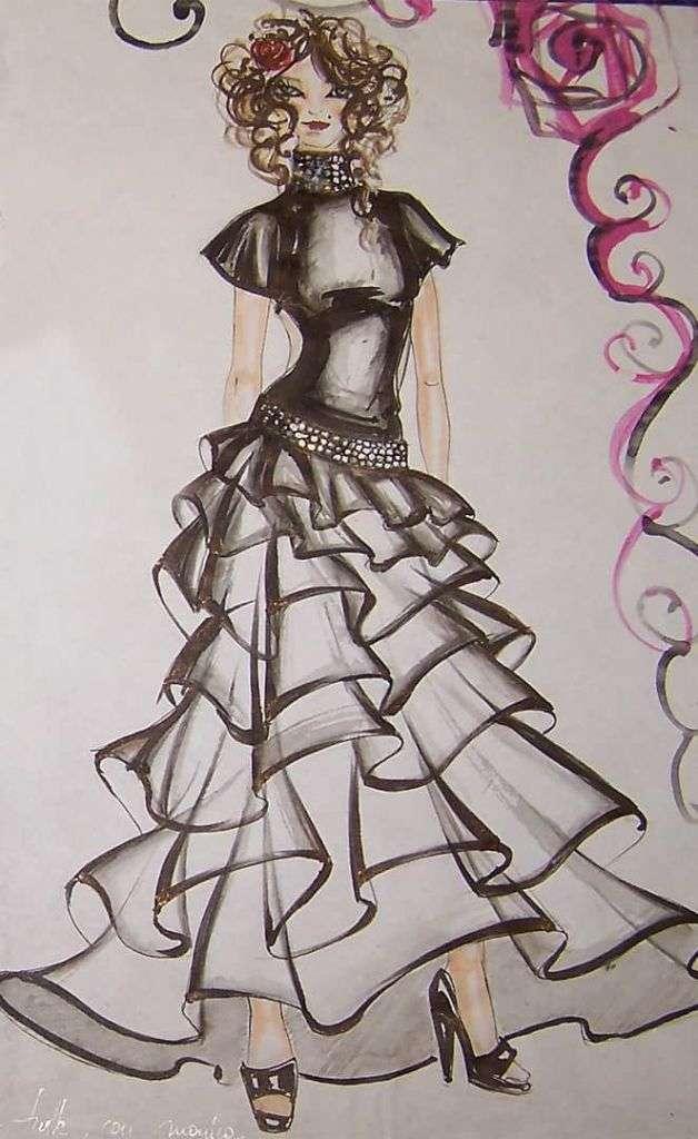 Fashion Design, Genny Gomiero, Scuola di Moda Vitali