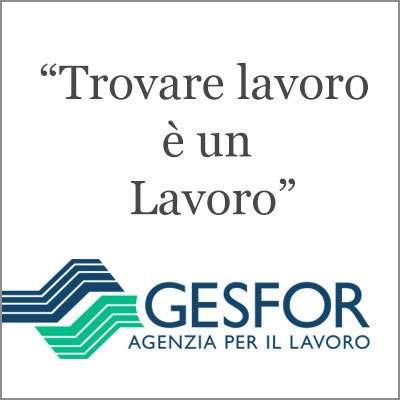 Gesfor, Agenzia per il Lavoro