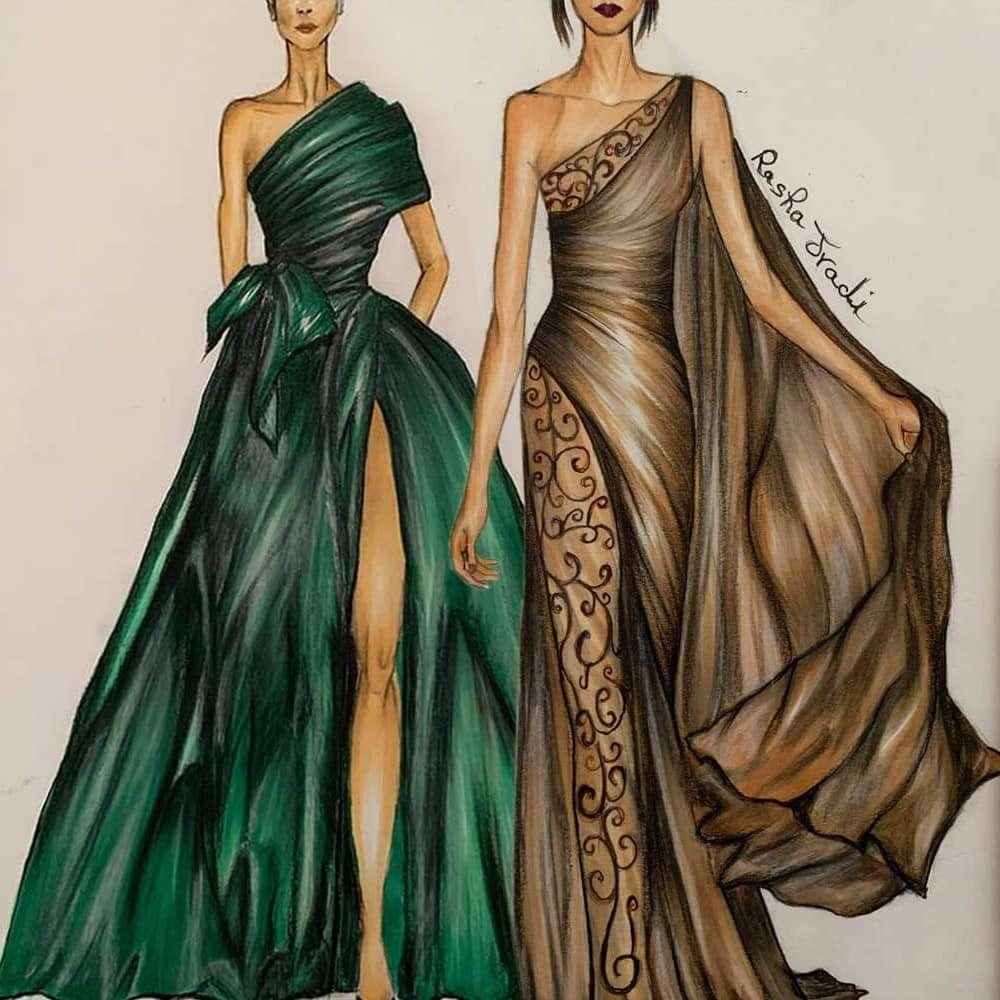 Rasha Jradi, Scuola di Moda Vitali