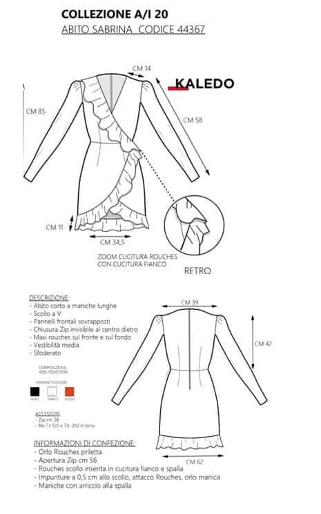 Fashion Design CAD Kaledo Style Lectra