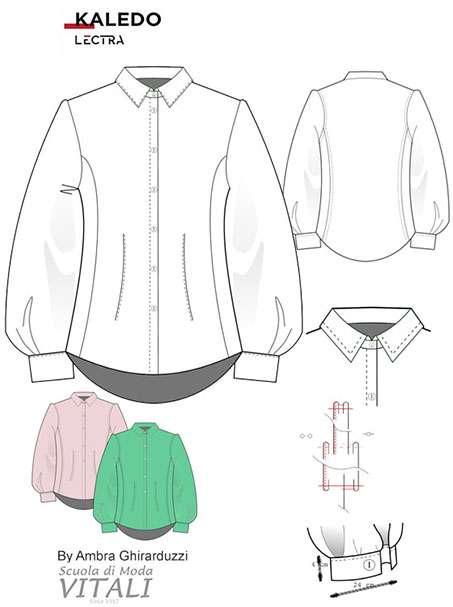 Fashion Design CAD Kaledo Style, Lectra, Scuola di Moda Vitali