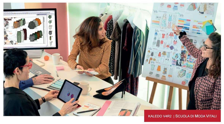kaledo Style, Corso Scuola di Moda Vitali