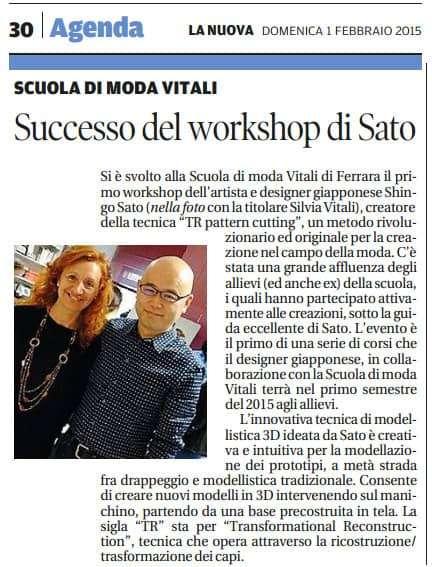 Shingo Sato e Silvia G. Vitali