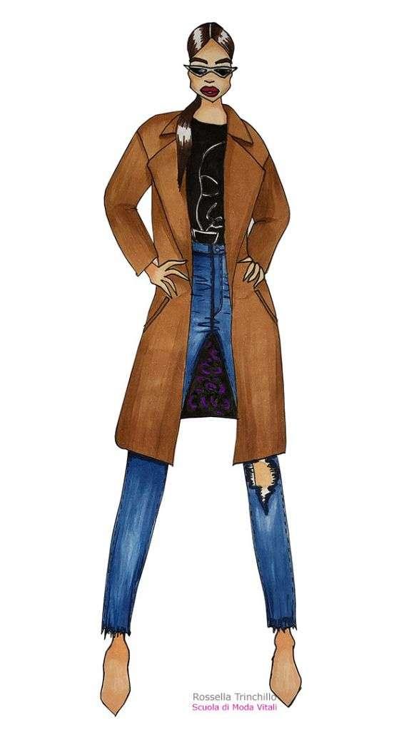 Rossella Trinchillo, Corso di fashion Design