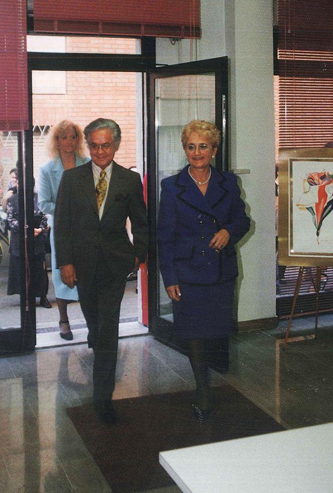 Roberto Capucci Inaugura la Nuova Sede della Scuola