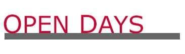 Open Day, Open Days 2021, Scuola di Moda