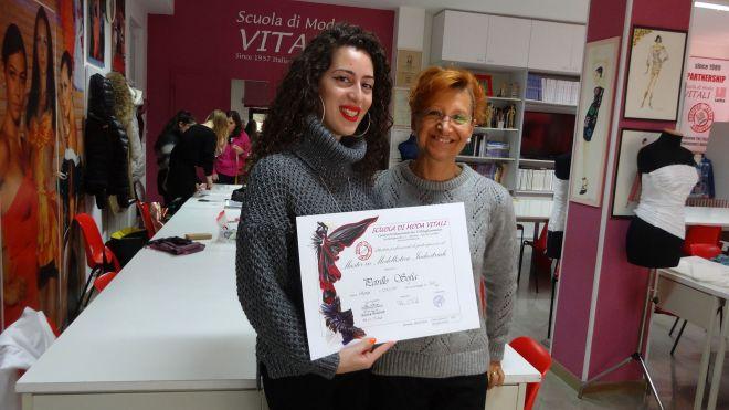 Sofia Petrillo, Modellista CAD Lectra, Scuola di Moda Vitali