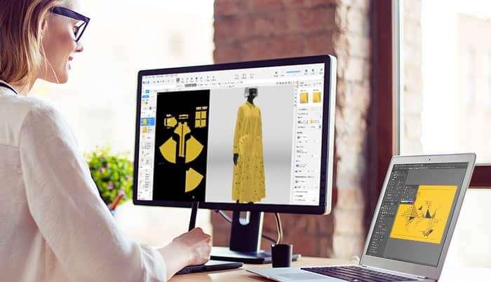 Vstitcher Modellistica 3D Scuola di Moda Vitali, Vitali Fashion School